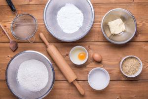 Vánoční vanilkové rohlíčky postup pečení