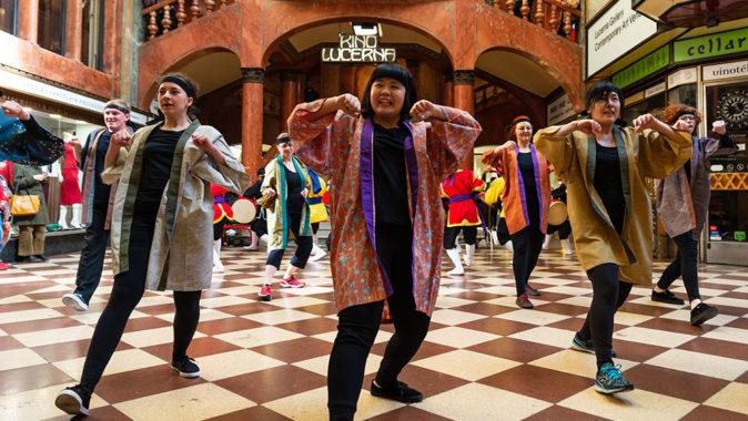 Festival japonského filmu a kultury EIGASAI 2020, který proběhne 20. –26. ledna v pražském kině Lucerna. Foto: www.eigasai.cz