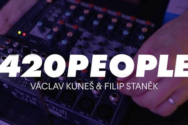 Václav Kuneš představí zajímavé osobnosti z tanečního světa. Foto: www.420people.org