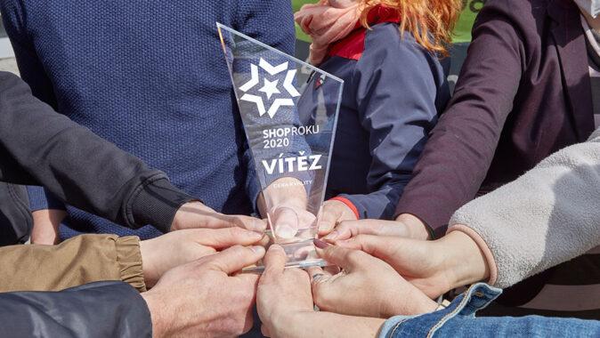 Nejkvalitnějším e-shopem roku 2020 v soutěži SHOP ROKU se stal 4camping.cz. Foto: www.4camping.cz