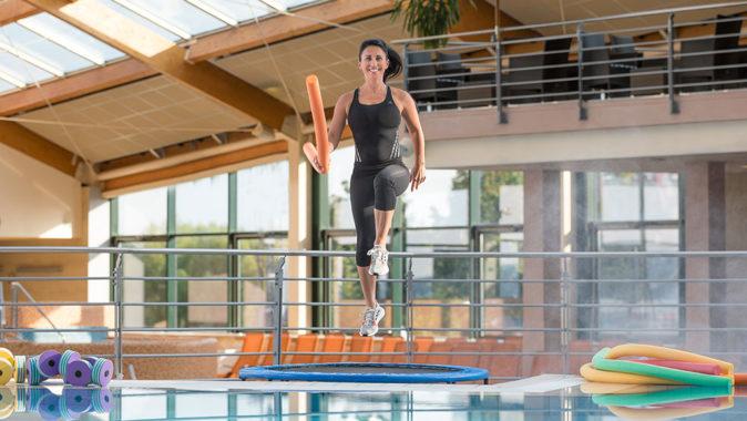 Hlavním partnerem projektu Let's #BEACTIVE je Aquapalace Praha. Foto: www.fisaf.cz
