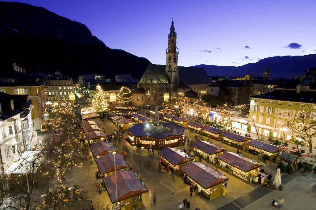 Vánoční trhy Piazza Walther Bolzano