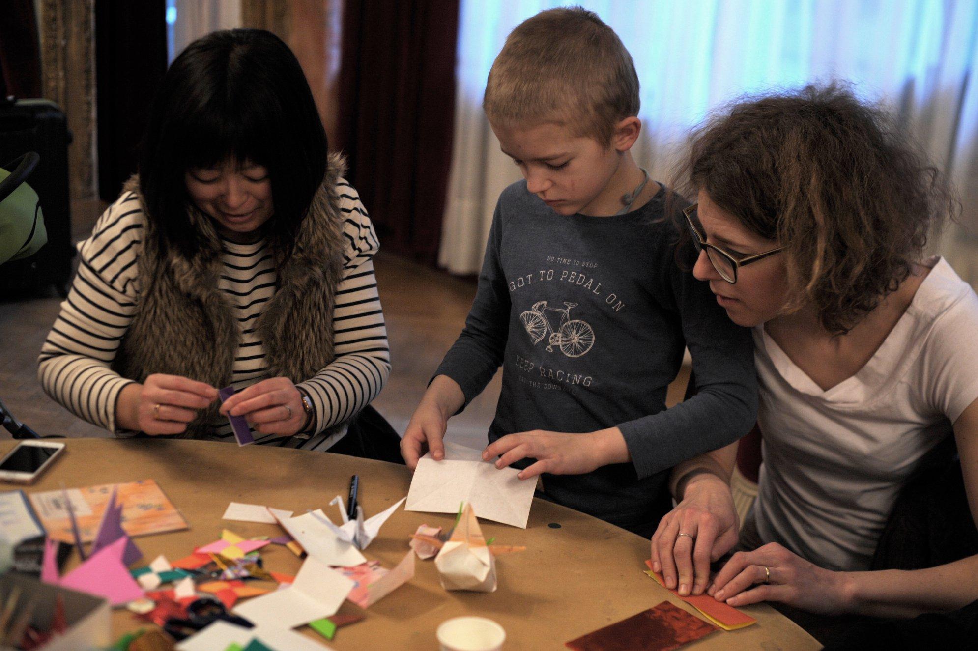 Japonský den - Workshop origami