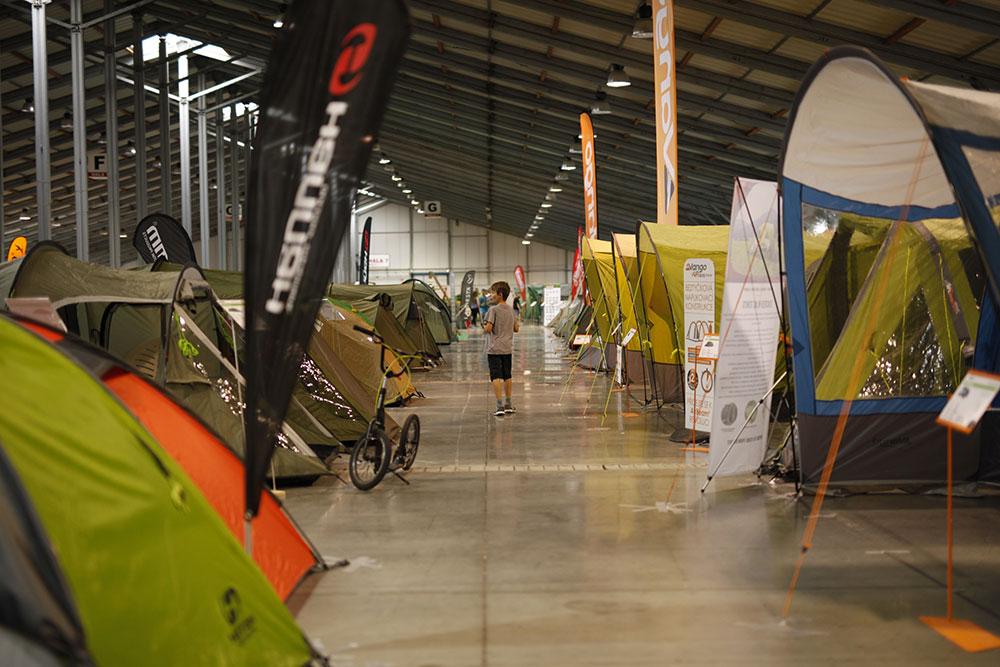 Výstava stanů a vybavení do přírody 2019