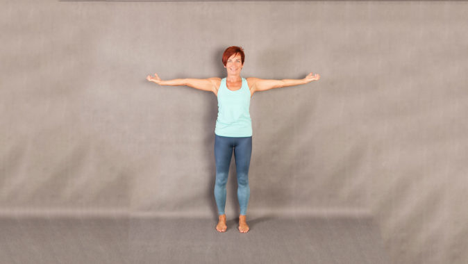Fit pain free - Arm Circless Standing pozice 1