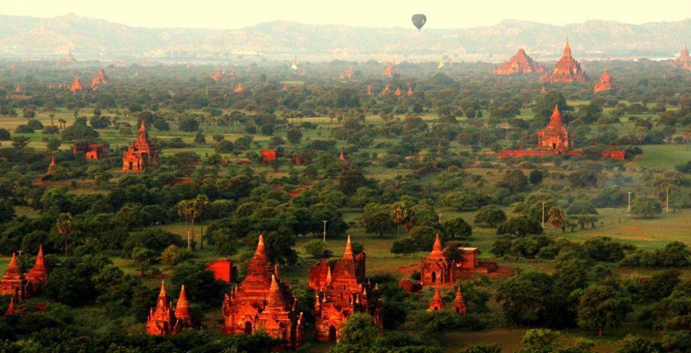 Bagan v Barmě
