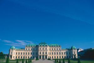 Belvedere Palace ve Vídni