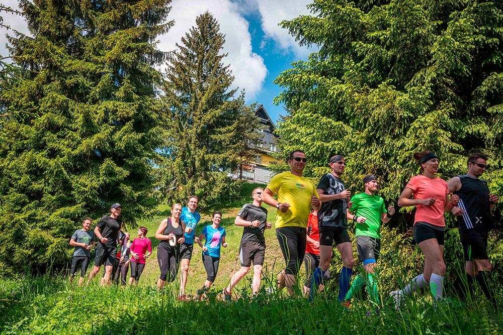 Běžecký kurz na Lanterně