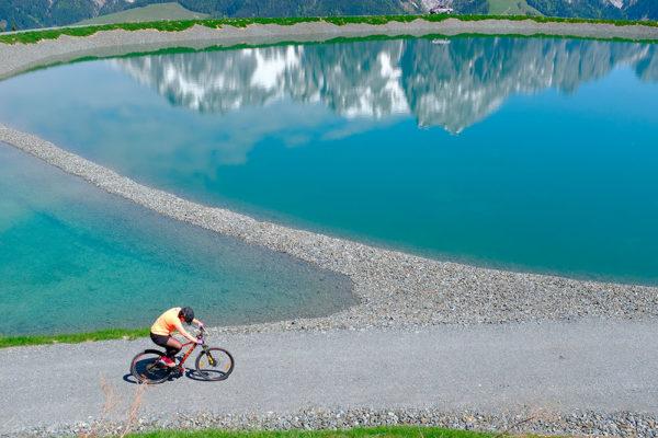 V Leogangu uprostřed Salcburska stojí největší bikepark v Evropě Leogangu uprostřed Salcburska stojí největší bikepark v Evropě. Foto:  www.puradies.at