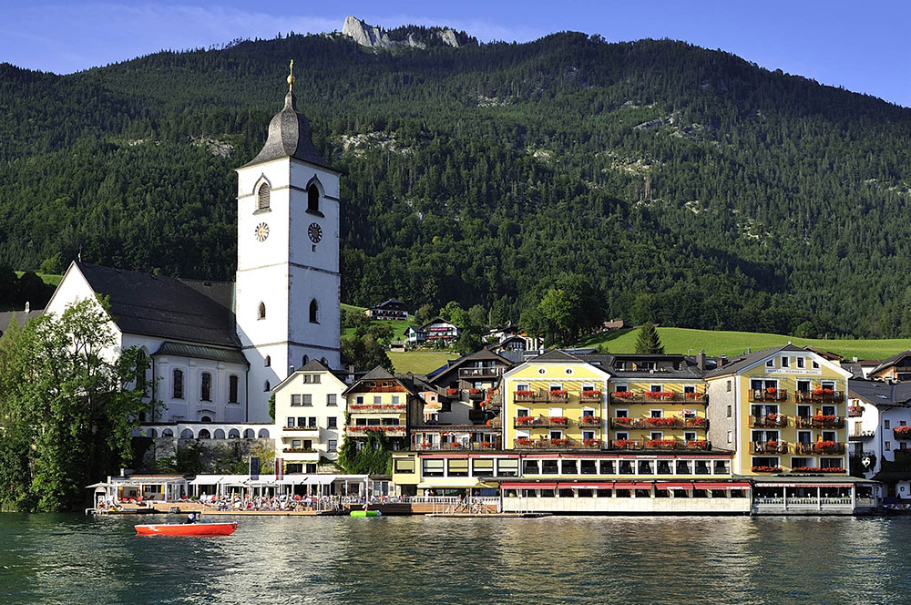 Wolfgangsee Hotel Bílý koníček