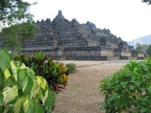 Borobudur v Indonésii
