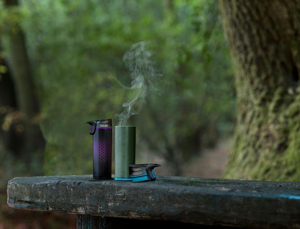 Hlavně v chladnějším období oceníme možnost mít stále po ruce termosku s teplým čajem