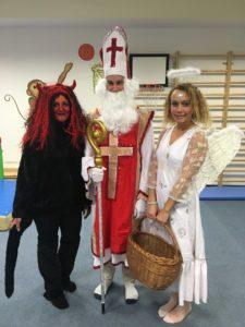 Čertovské řádění a vánoční tvoření v Monkey´s Gym
