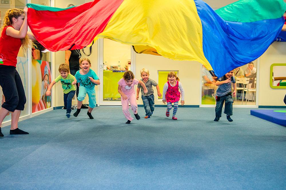 Cvičení pro děti Monkeyˇs Gym