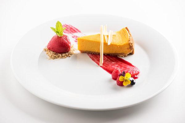 Dýňový cheesecake. Foto: www.lanterna.cz