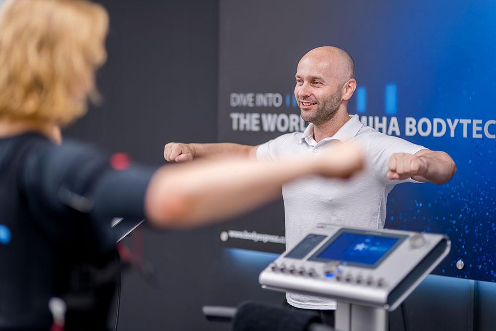 Cvičení EMS - Bodyexpres