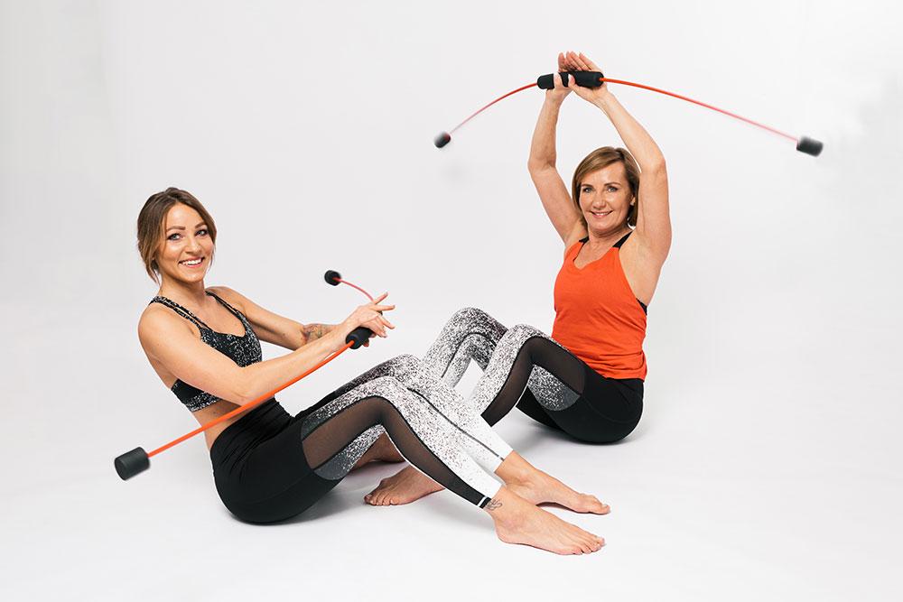 Fit pain free - cvičení s Flexi-barem