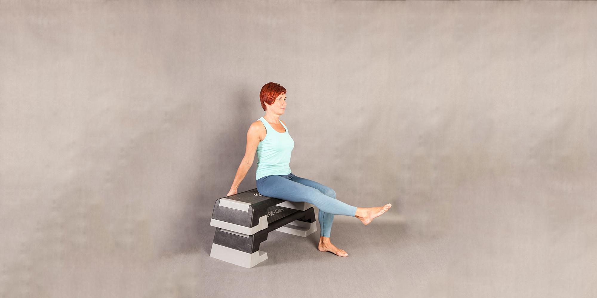 Sitting Leg Extensions 2