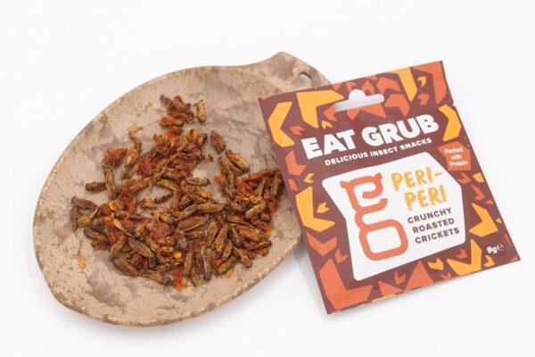 Energetická svačinka Eat Grub Peri-Peri. Foto: www.4camping.cz