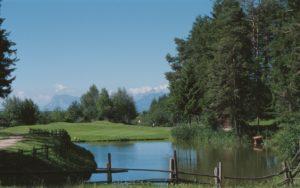 Golf v Jižním Tyrolsku