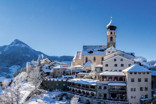 Romantikhotel Turm ve Völsu v Jižním Tyrolsku. Foto: www.hotelturm.it