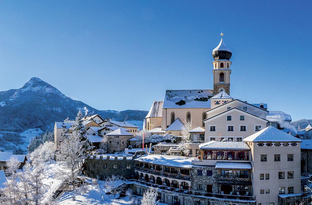 Romantikhotel Turm ve Völsu v Jižním Tyrolsku