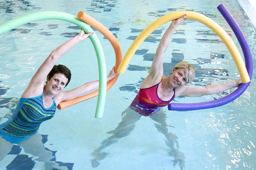 Těhotenské plavání v Juklíku
