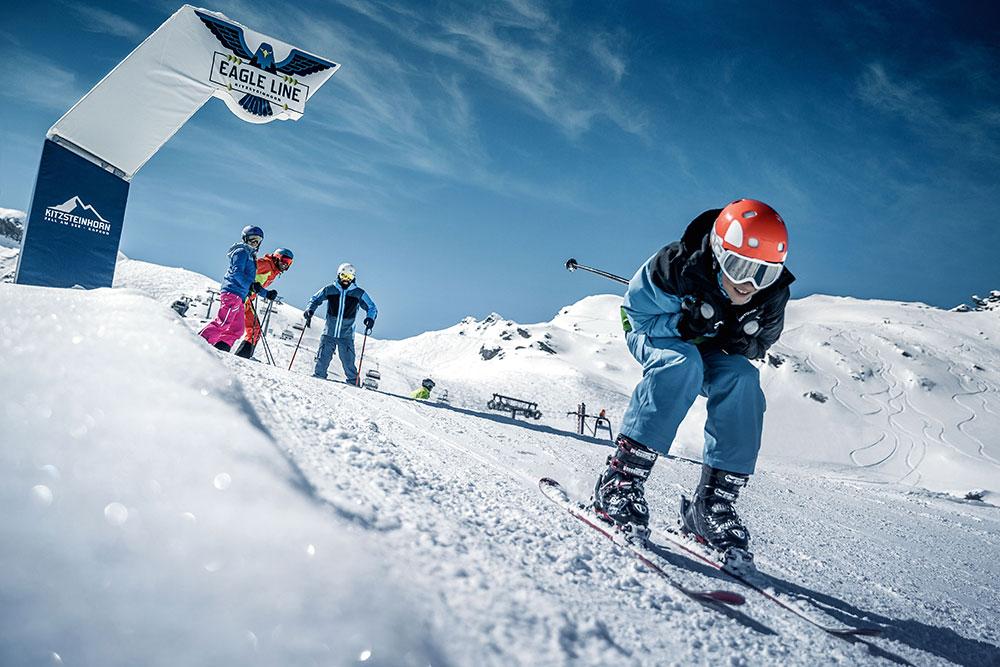 Zell am See lyžování