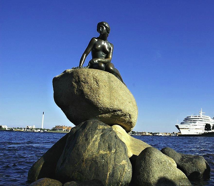Kodaň malá mořská víla