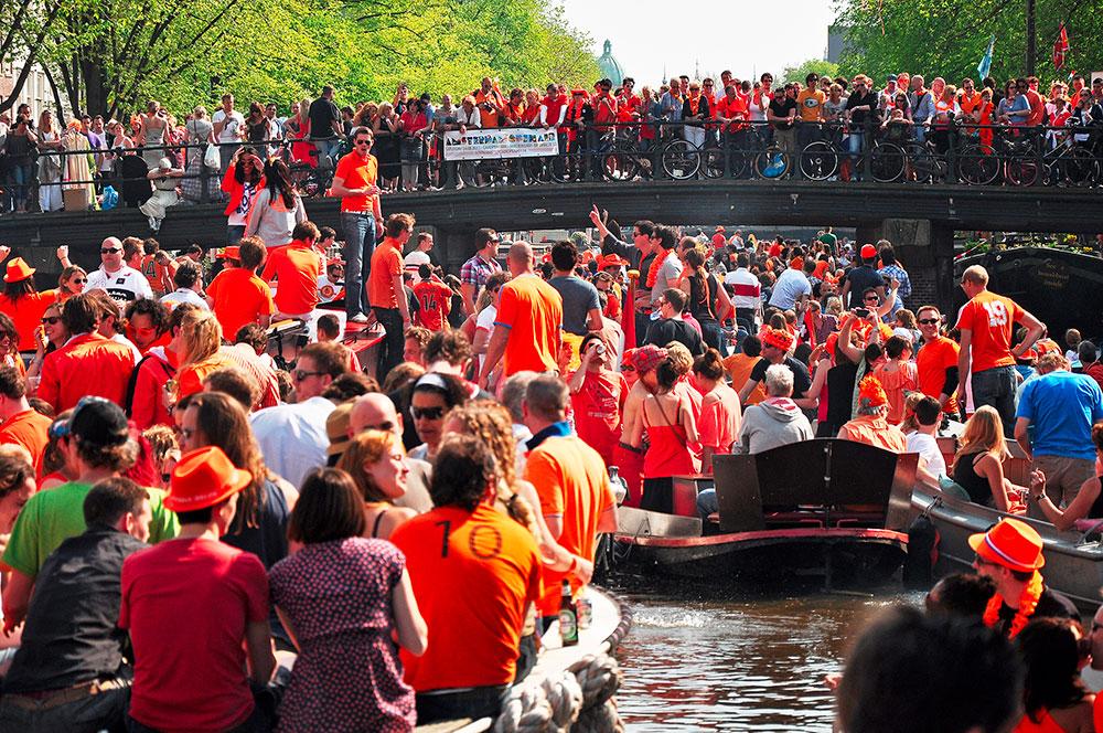 Králův den Amsterdam