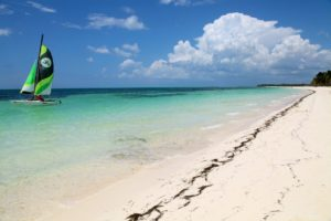 Kuba pláž