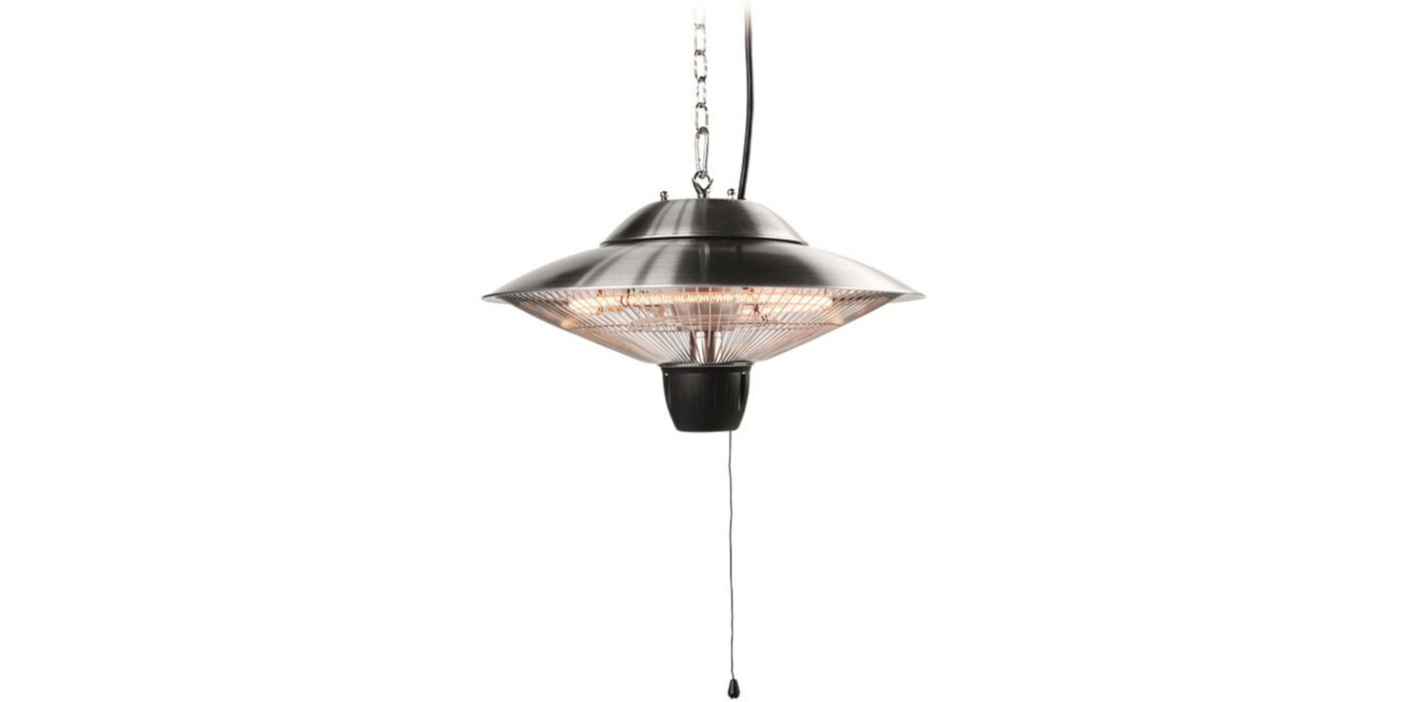 Kombinace závěsné lampy a ohřívače Outwell Fuji Electric Camping/Patio Heater