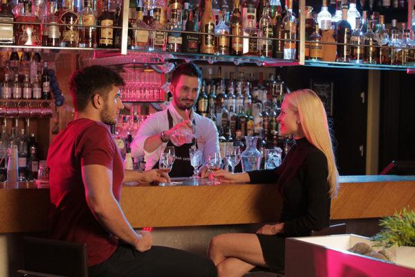 Nabídka skvělých drinků v Cocktail baru Lanterna. Foto: www.lanterna.cz