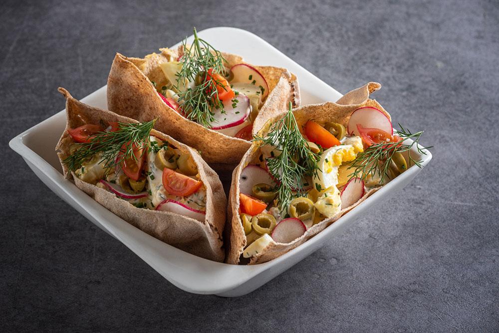 Lanterna vajíčkový salát