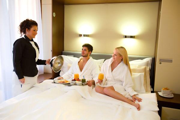 Romantické chvíle ve dvou nabízí Spa hotel Lanterna ve Velkých Karlovicích.