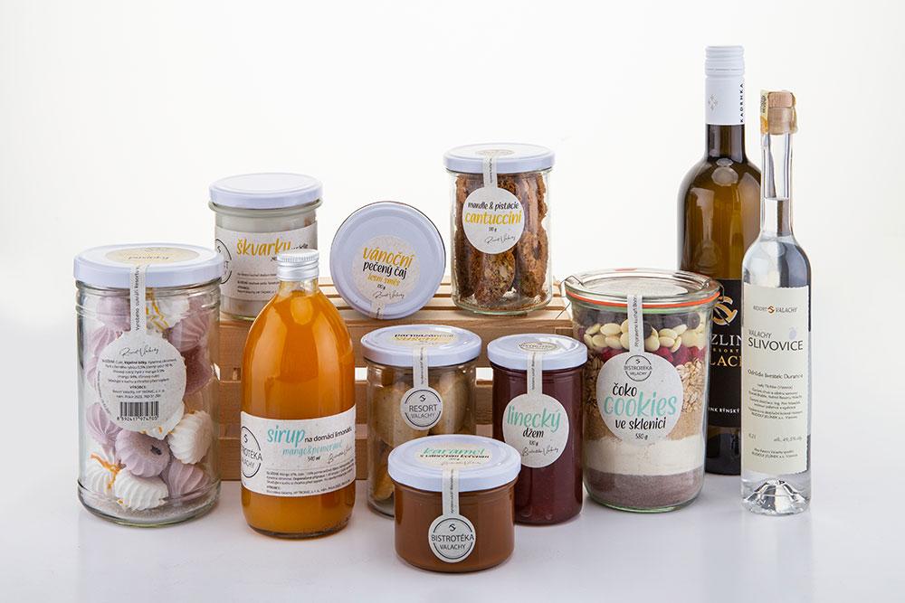 Bistrotéka Valachy - jedlé dárky