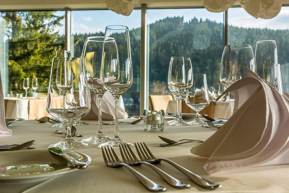 Spa Hotel Lanterna zážitková restaurace Vyhlídka