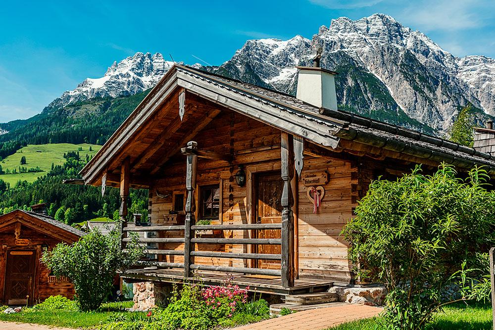 Alpské středisko Leogang