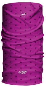 Multifunkční šátek H.A.D Merino Amethyst Rhombus