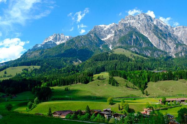 "Puradies je zkratkou pro ""čistý ráj"") a najdete ho v rakouském Leogangu. Foto: www.puradies.at"