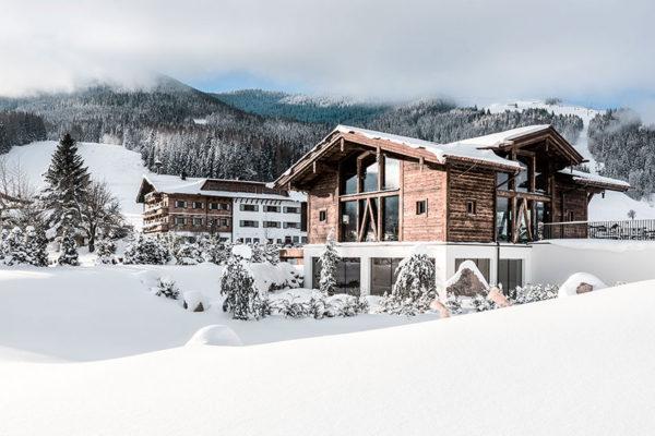 Hotel Puradies v rakouském Leogangu. Foto:  www.puradies.at