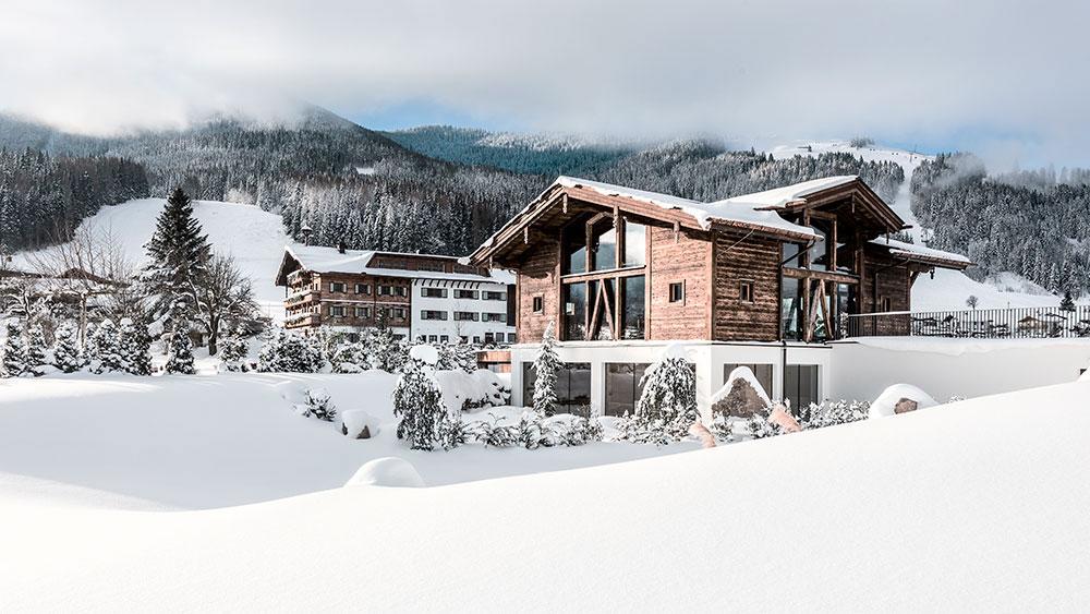 Hotel Puradies v rakouském Leogangu