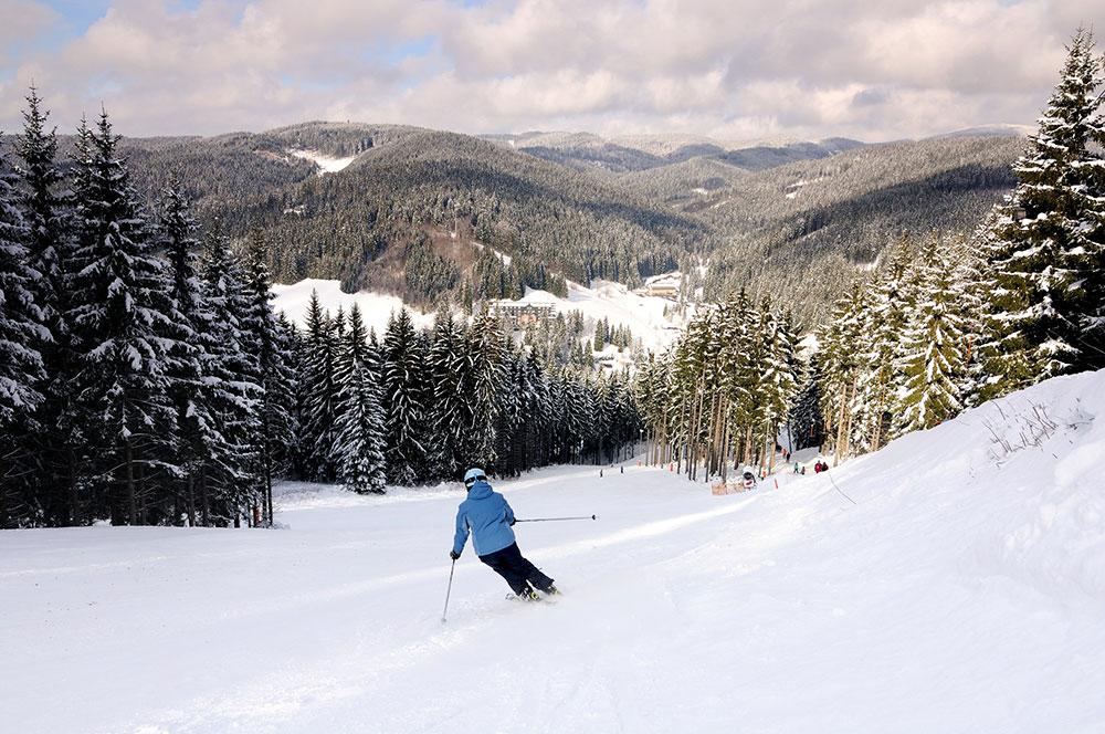Lyžování ve Ski areálu Razula