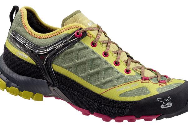 Firetail Evo GTX Salewa je dámská trekingová obuv, která zvládne každý typ terénu a zajistí stabilitu i na hladkém mokrém terénu. Foto: www.4camping.cz