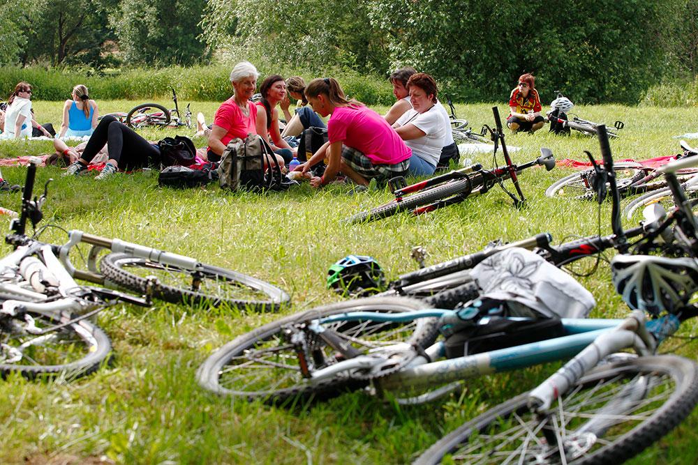 SBCR jízda Ski a Bike centrum Radotín