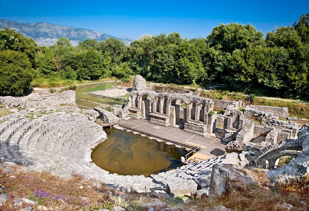 """Albánie býčí město"""" – Butrint"""