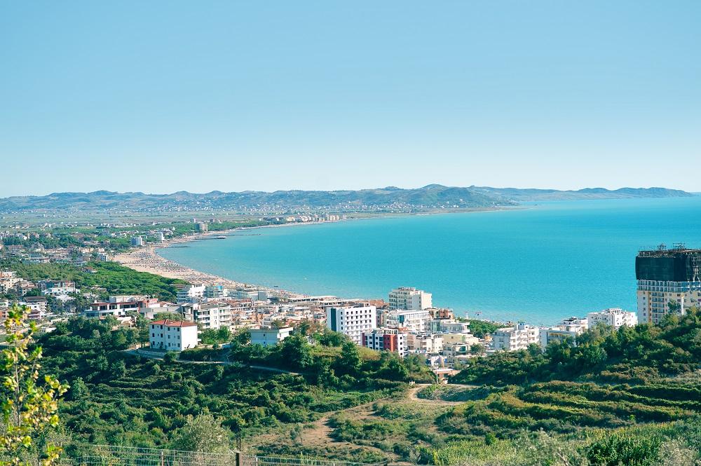 Pobřeží Albánie
