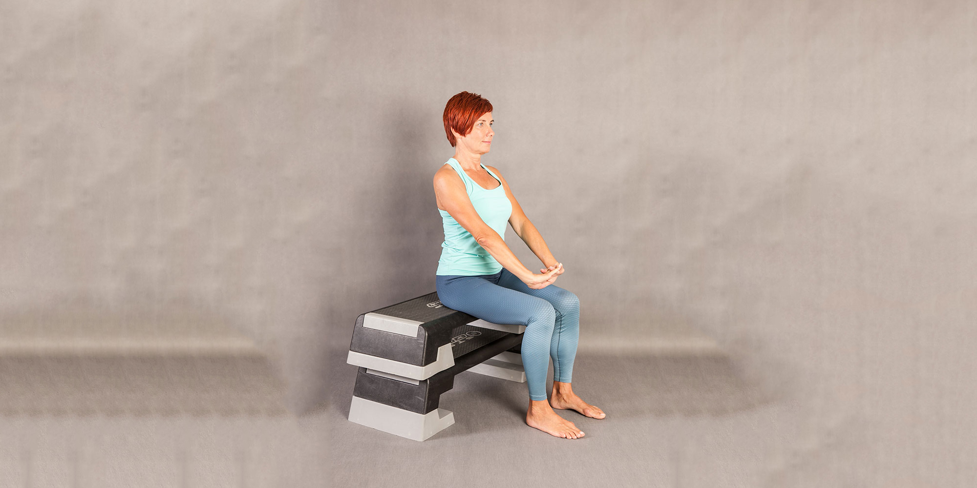 Fit pain free - Sitting Overhead Extension Up and Down
