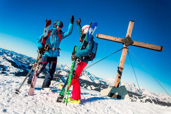 Nordic Park Saalfelden Leogang nadchne všechny běžkaře i vyznavače zimní turistiky. Foto:  www.puradies.at