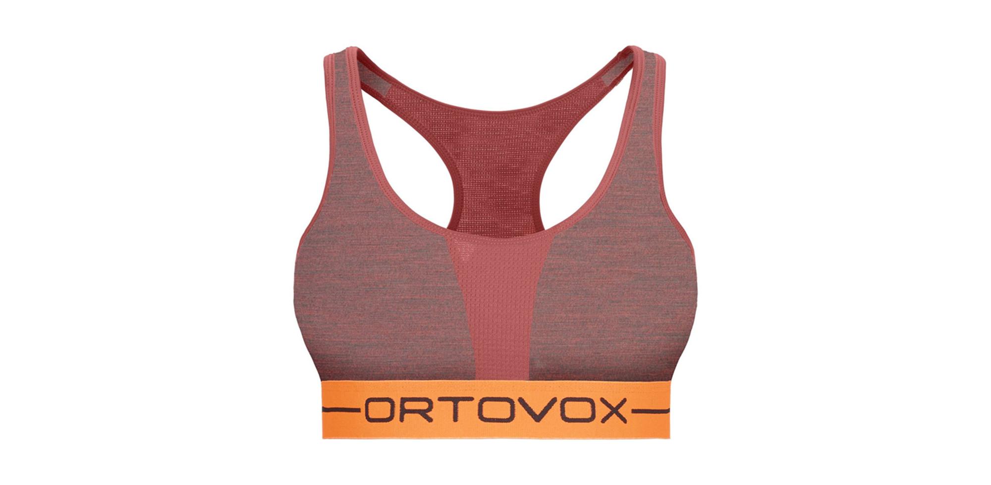 Funkční podprsenka Rock'n'Wool Sport Top od německé značky Ortovox